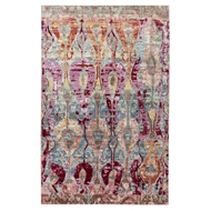 Jaipur Varuna Rug from Ceres Collection CER04 - Blue/Pink